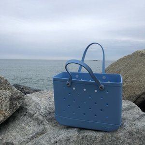 BOGG BAG large light blue beach bag new with tags